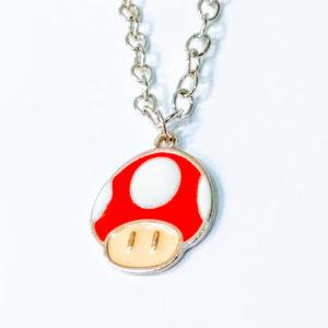Colar – Super Mário – Cogumelo Vermelho