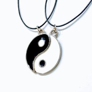 Colar Yin Yang Casal, Amizade, Namoro