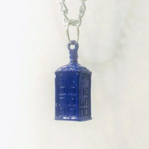 Colar Doctor Who – Tardis