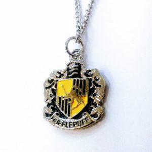 Colar Harry Potter Hp – Hogwarts – Lufa Lufa ( Hufflepuff )