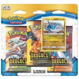 Blister Pokémon Dragões Soberanos – Latios
