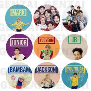 Kit Got7 C/ 9 Bottom Broche – Kpop
