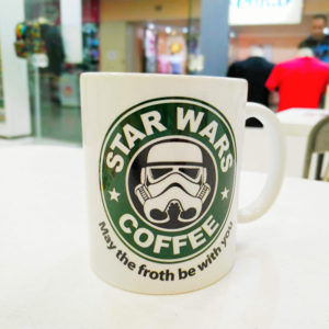 Caneca Filme Star Wars Coffee