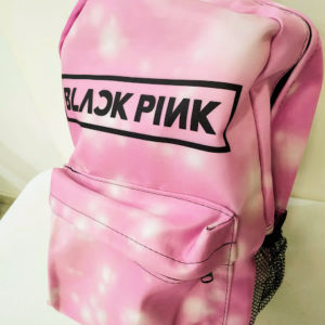 Mochila K-pop Black Pink Rosa