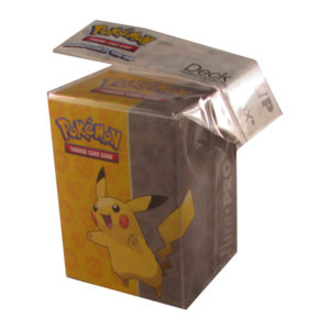Deck Box – Pokémon – Pikachu