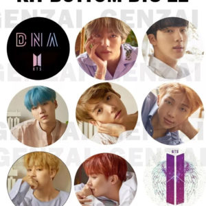 Kit Bts C/ 9 Bottom – Dna Love Yourself ! Broche Kpop