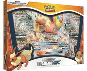 Box Pokémon Tcg Flareon Gx E Eevee Gx Em Português
